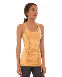 Leah Yoga Top-XL-Orange